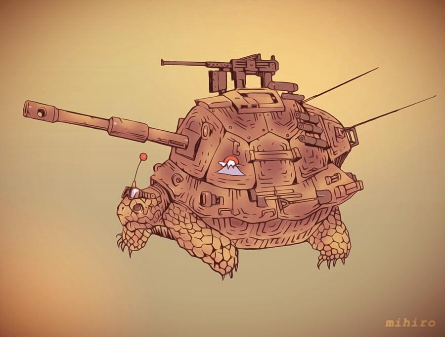 リクガメ戦車/03