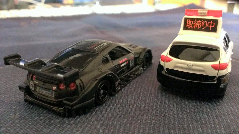 GT-R &CX-5パトB