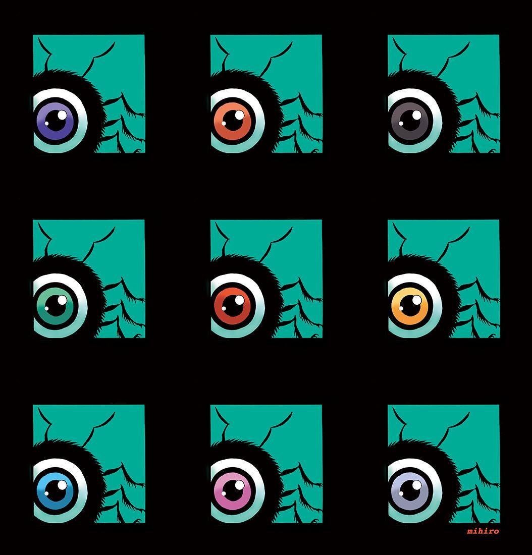 目玉虫増殖中