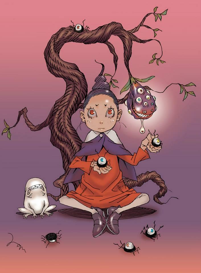 不死の木の下で不死木摩訶瞑想