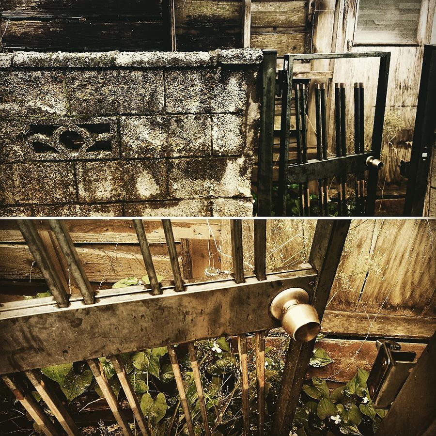 廃屋の裏口03