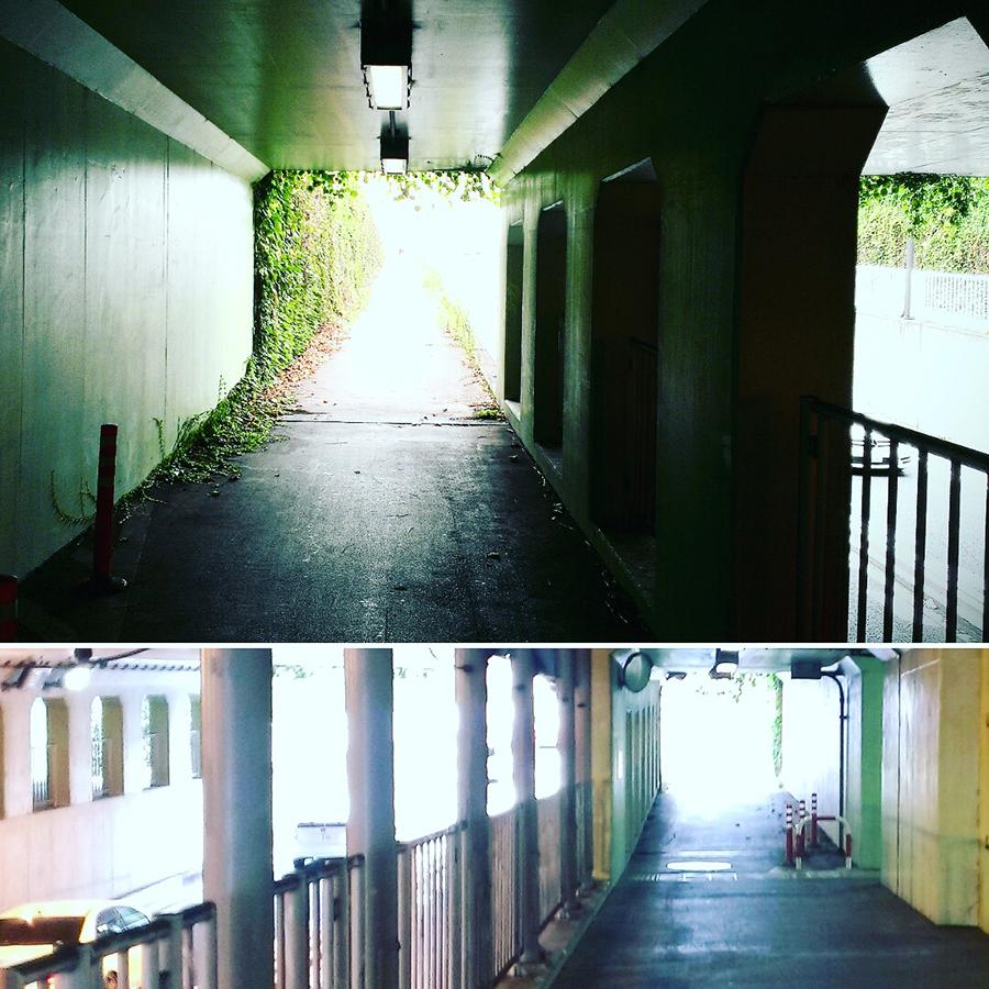 高架下トンネルi