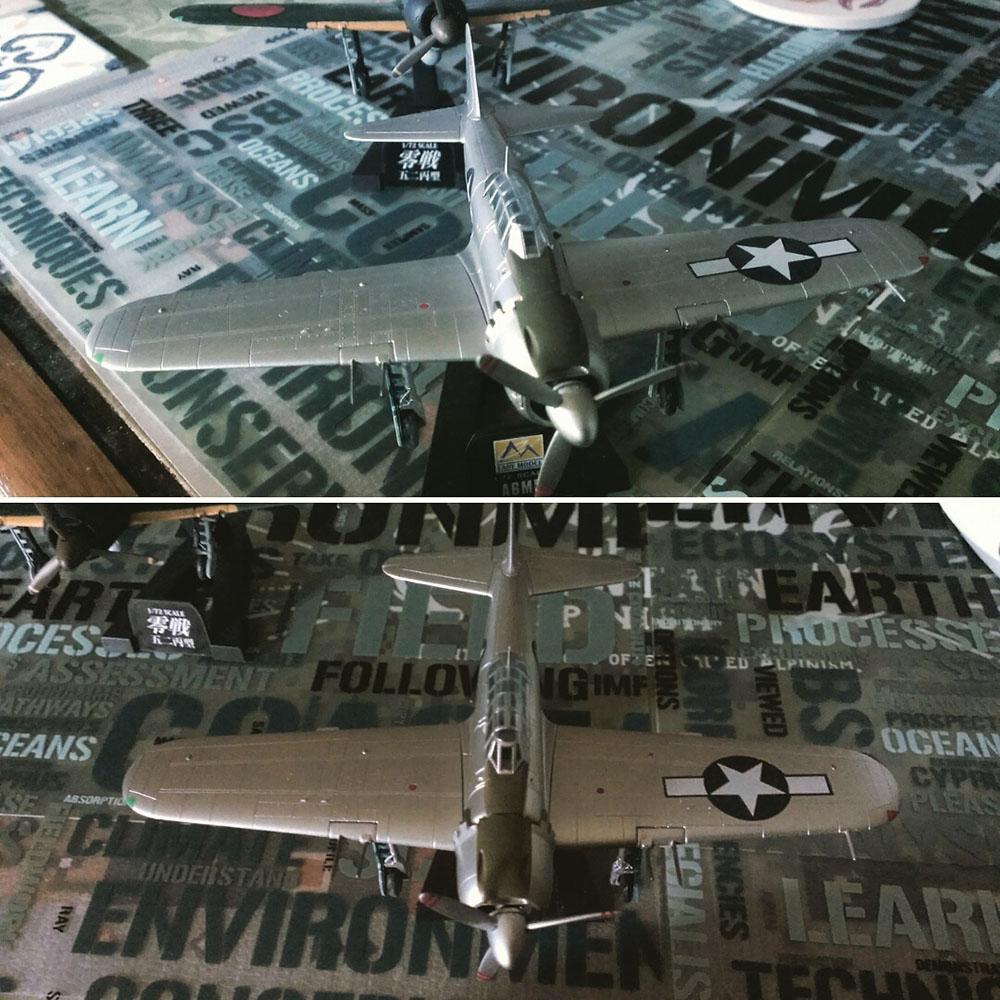 ゼロ戦鹵獲機01